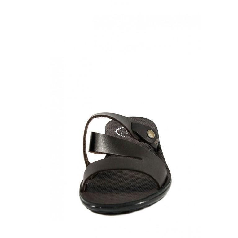 Шлепанцы женские TiBet 34-1 темно-коричневые