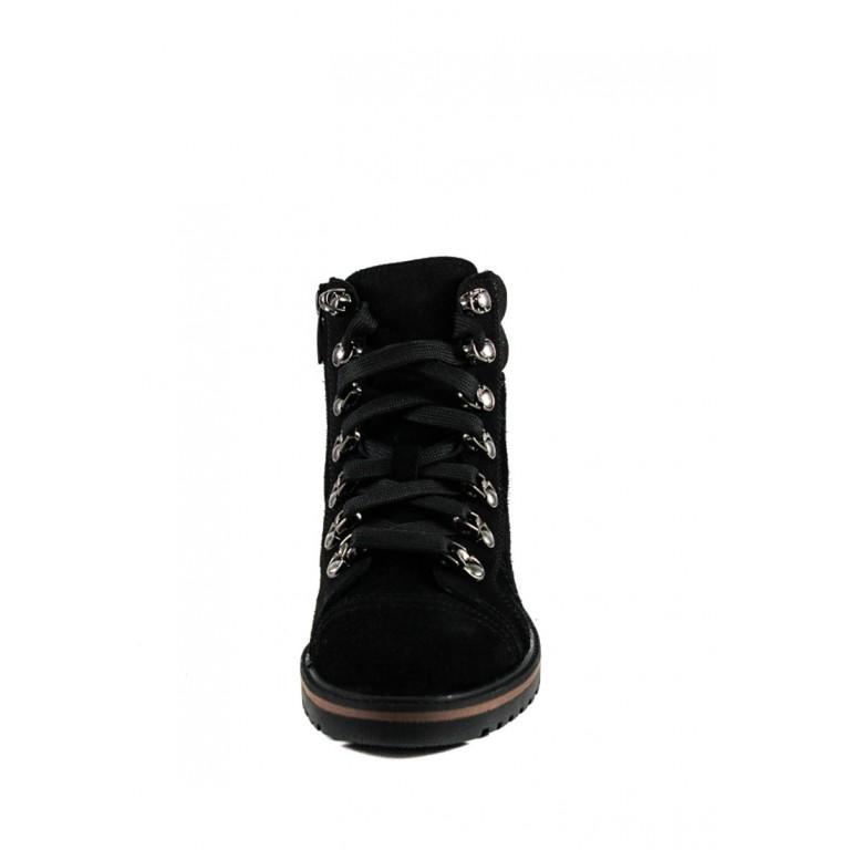 Ботинки зимние женские MIDA 24833-249Ш черные