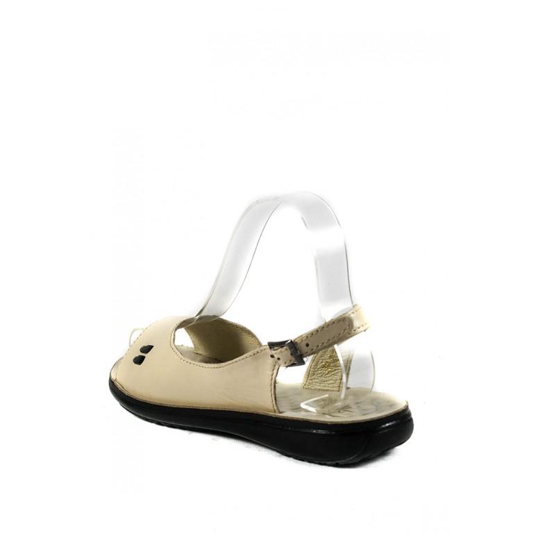 Сандалии женские TiBet 278-02-09 кремовые