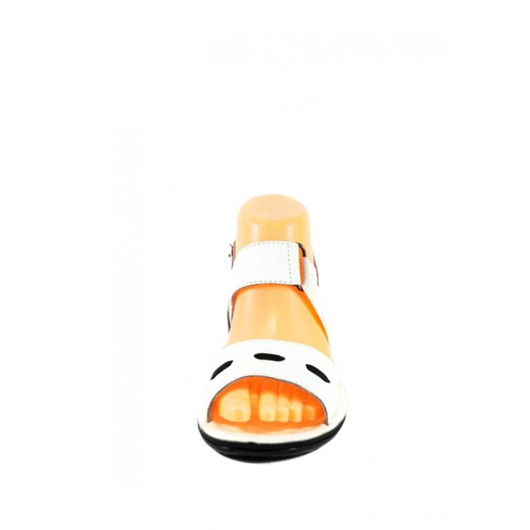 Сандалии женские TiBet 493-02-08 белые
