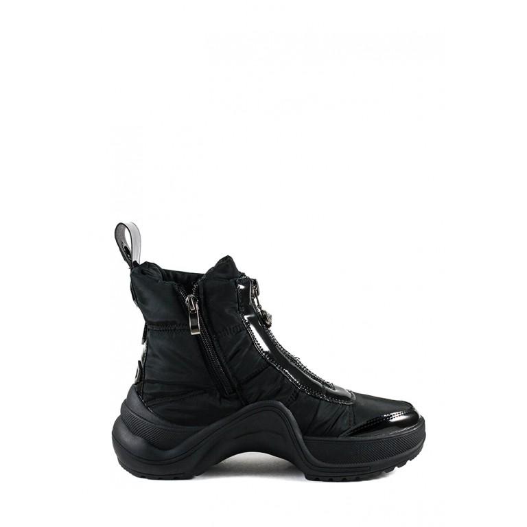 Ботинки зимние женские Prima D'arte 3350-F66-6 черные