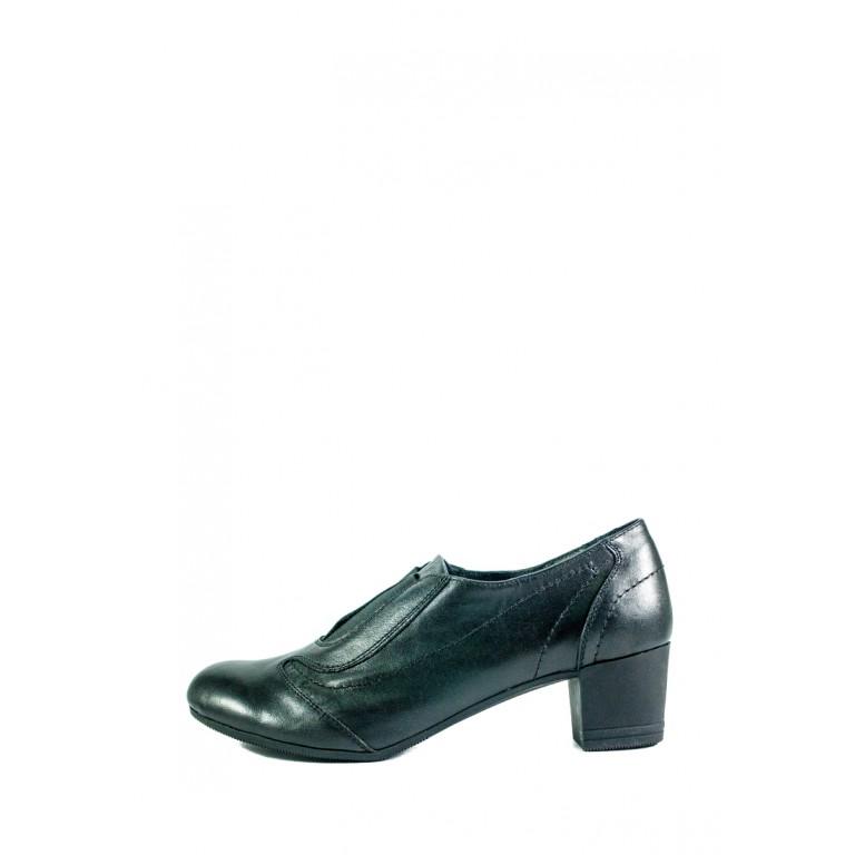 Туфли женские MIDA 21585-1 черные