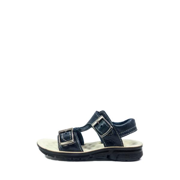 Сандали подростковые TiBet 009-02-33 темно-синие