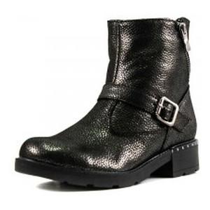 Ботинки зимние женские SND SDZJ4 черная кожа