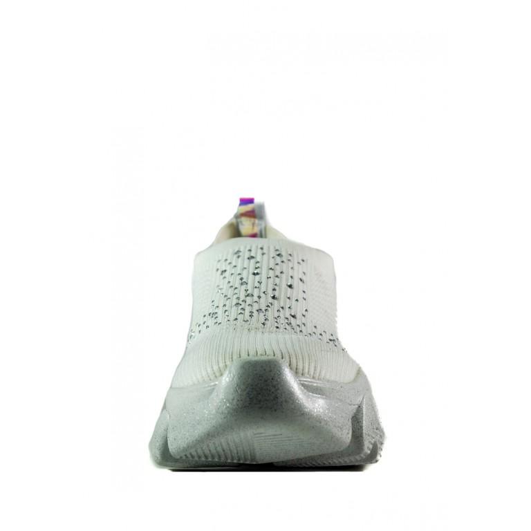 Кроссовки женские Sopra СФ P986 белые