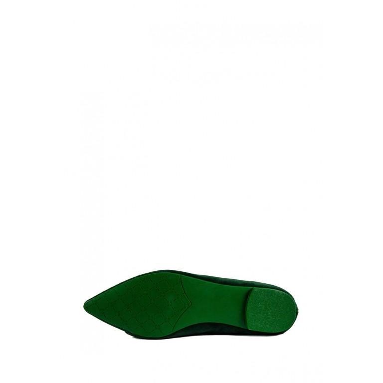 Балетки женские Prima D'arte HR-6Y113-F8 зеленые