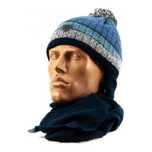 FRODO шапка-шарф синий 48-50