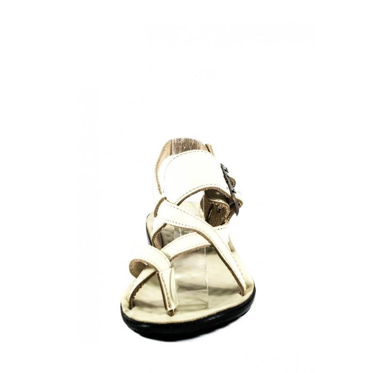Босоножки женские TiBet 77 кремовые