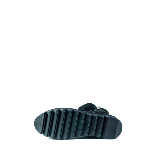 Ботинки зимние женские MIDA 24635-9Ш черные