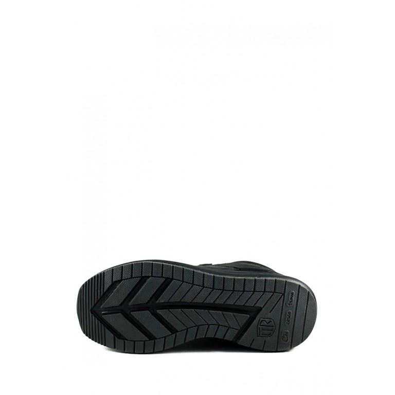 Ботинки зимние мужские Tesoro 198053-06-01 черные