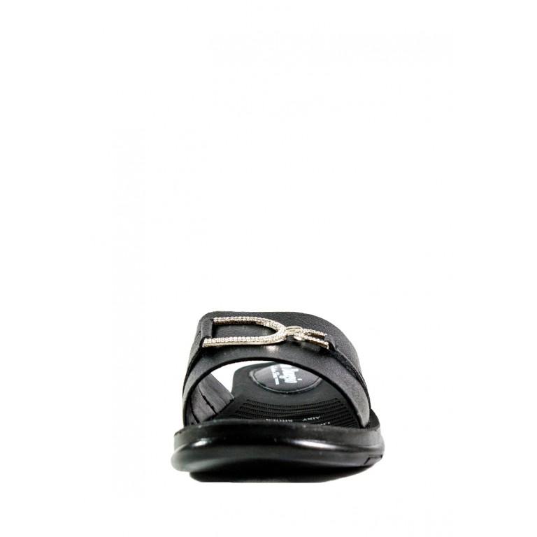 Шлепанцы женские Pino Dangio СФ 8031-26E черные