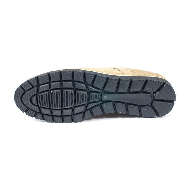 Туфли мужские MIDA 13337-10 бежевые