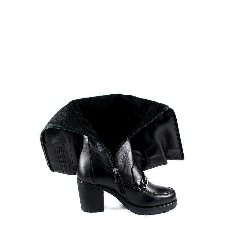 Сапоги зимние женские MIDA 24902-1Ш черные
