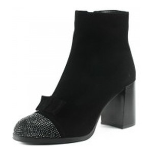 Ботинки демисезон женские Foletti FL805-2 чзш черная замша