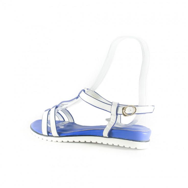 Сандалии женские Lorbacsa 3350-2A бело-синие