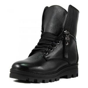 Ботинки зимние женские Lonza 525-Lisabon ч.к черные