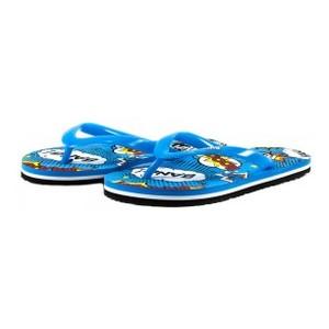 Шлепанцы детские 8952-А черно-голубые