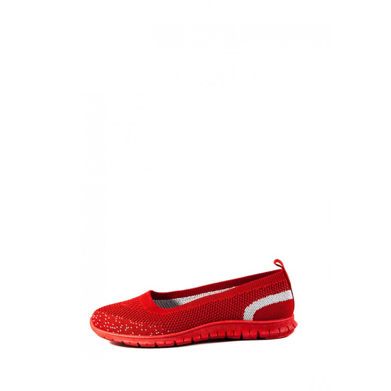 Мокасины женские Sopra 93-76 красные