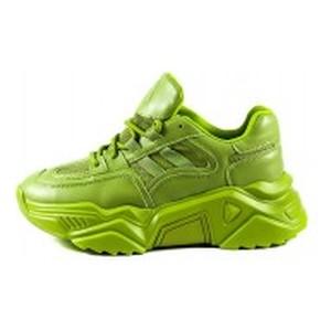 Кроссовки демисезон женские Allshoes 119-19223-27 зеленые