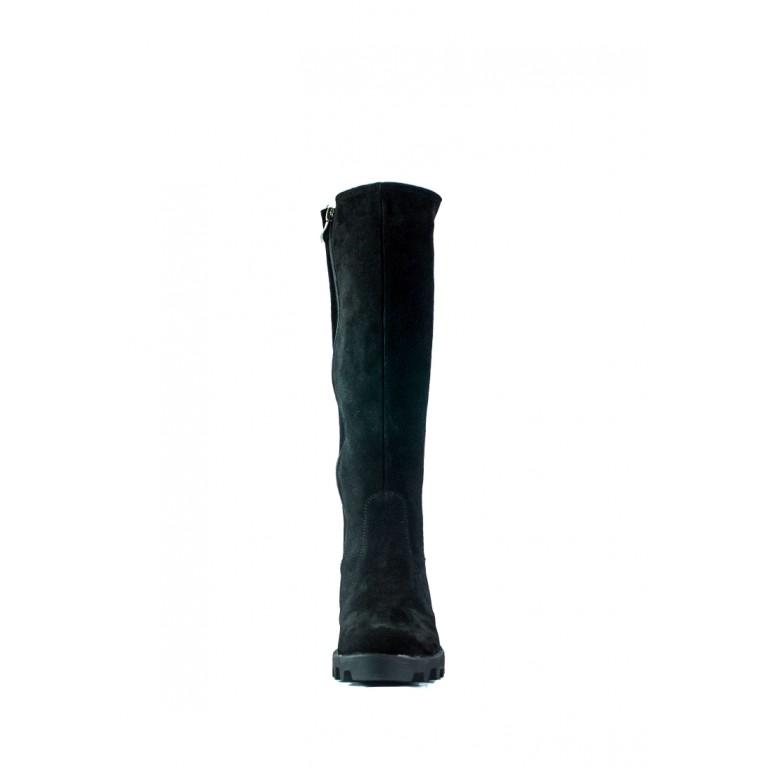 Сапоги зимние женские Lonza SD С13-1 чз черные