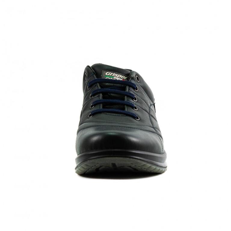 Кроссовки мужские Grisport Gri43023 темно-зеленая кожа