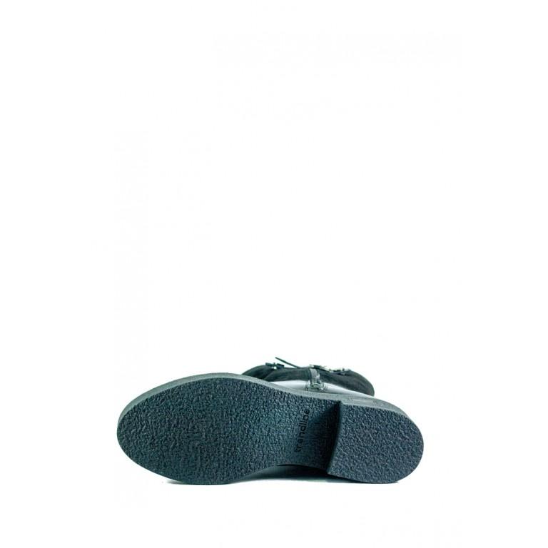 Сапоги зимние женские MIDA 24658-161Ш-1 черные