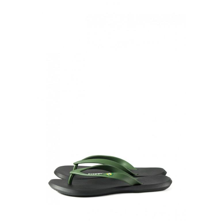 Вьетнамки мужские Rider 10594-20754 черно-зеленые