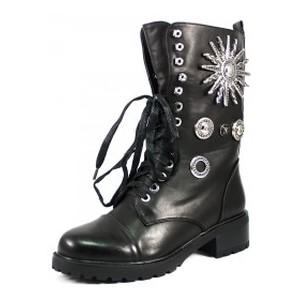 [:ru]Ботинки демисезон женские Fabio Monelli H158-M918A-6 черные[:uk]Черевики демісезон жіночі Fabio Monelli чорний 09143[:]