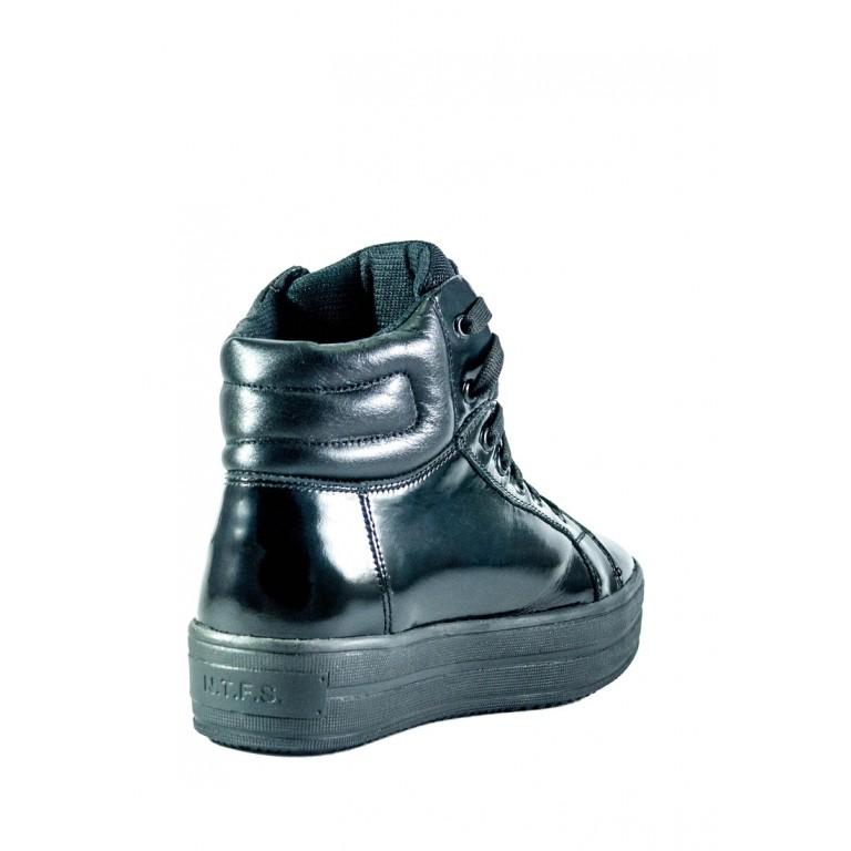 Ботинки зимние женские MIDA 24654-134Ш черные