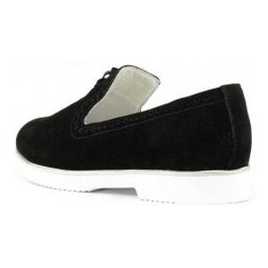 Туфли женские MIDA 21992-9 черный нубук