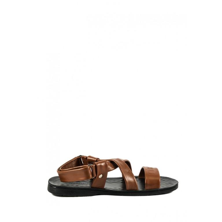 Сандалии мужские TiBet 306-01-04 коричневые