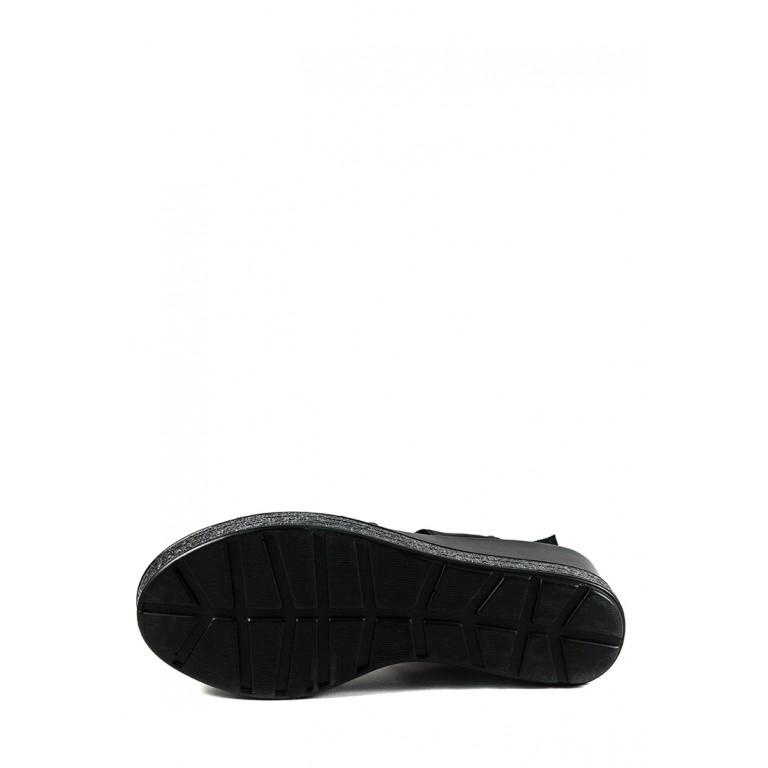 Босоножки женские Sopra СФ W18-6371 черные