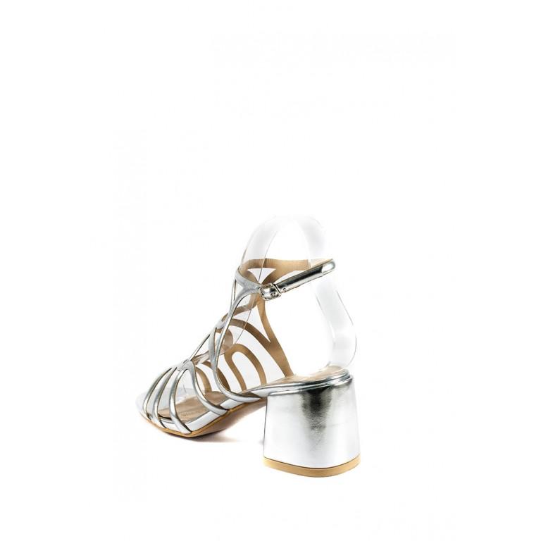 Босоножки женские летние Sopra СФ 8659A-60 серебряные