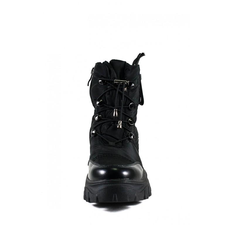 Ботинки зимние женские Prima D'arte 1616-F800-1 черные