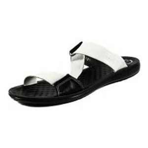Шлепанцы женские TiBet 40 черно-белые