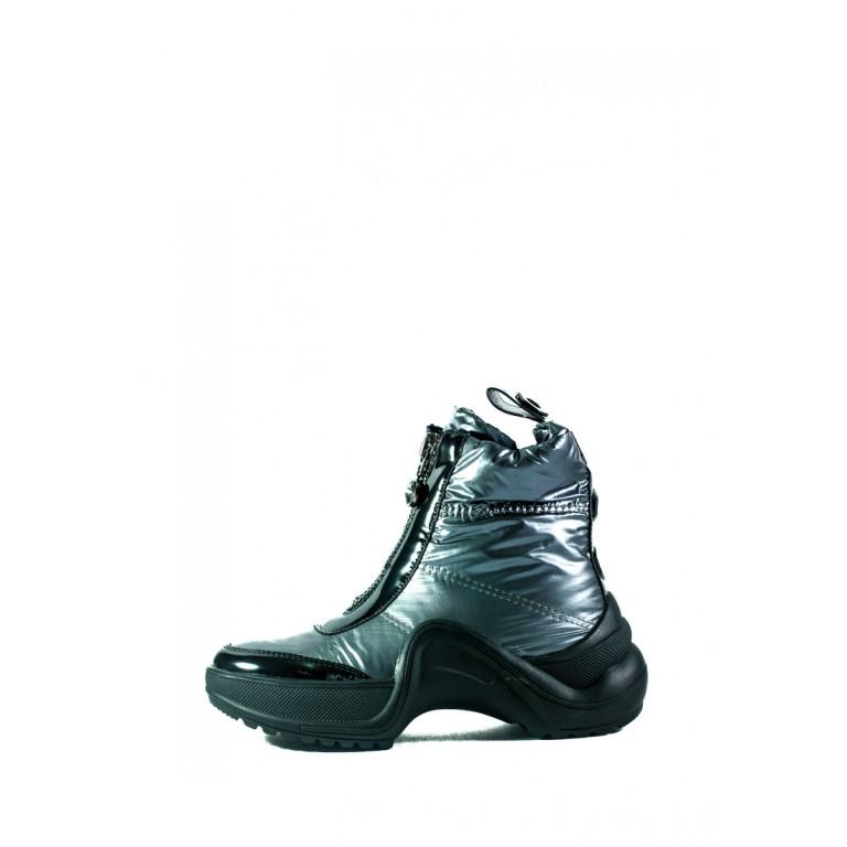 Ботинки зимние женские Prima D'arte СФ 3350-F66-2 серые