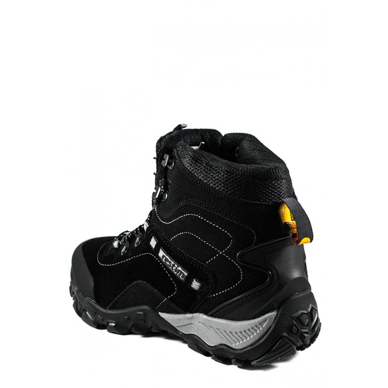 Ботинки зимние мужские Restime OMO19871 черные
