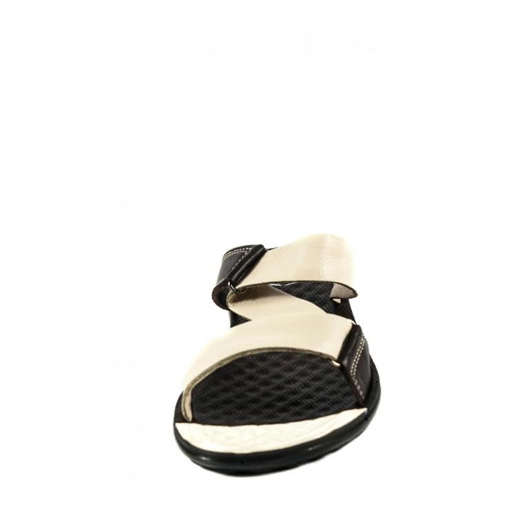 Шлепанцы женские TiBet 40-3  коричнево-бежевые