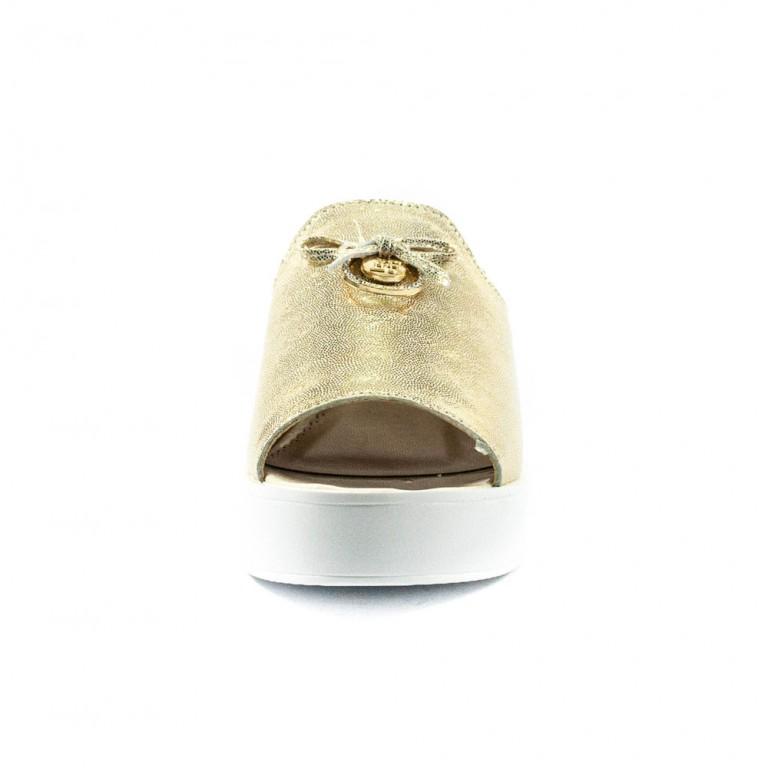 Сабо женские Foletti FL T-630-1 золото