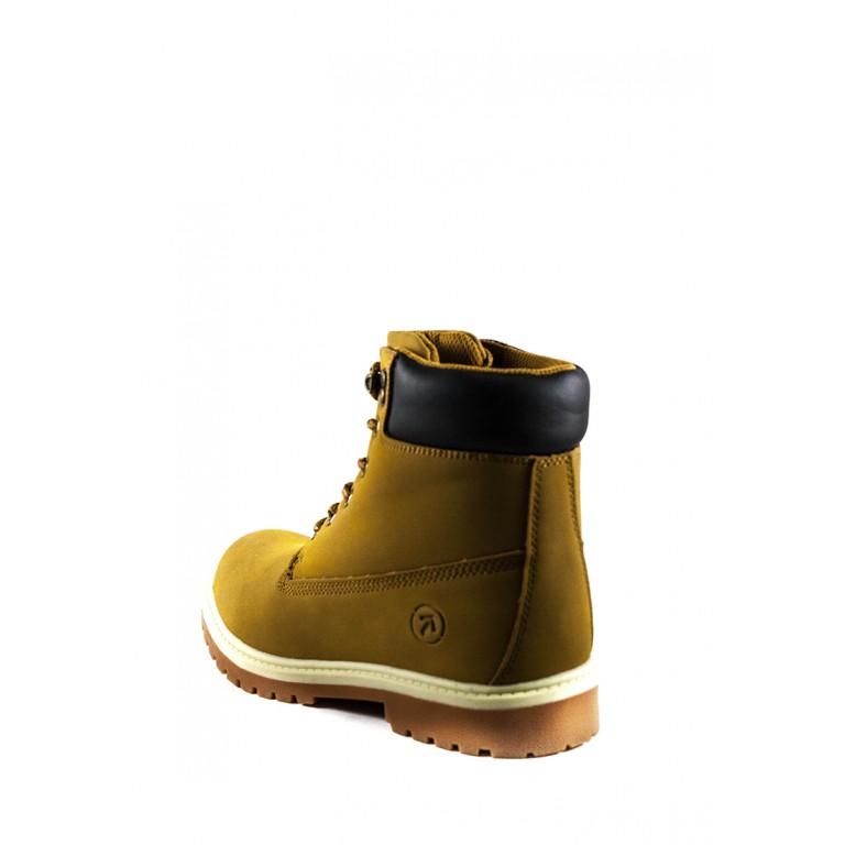 Ботинки зимние женские Restime KWZ19104 кэмел