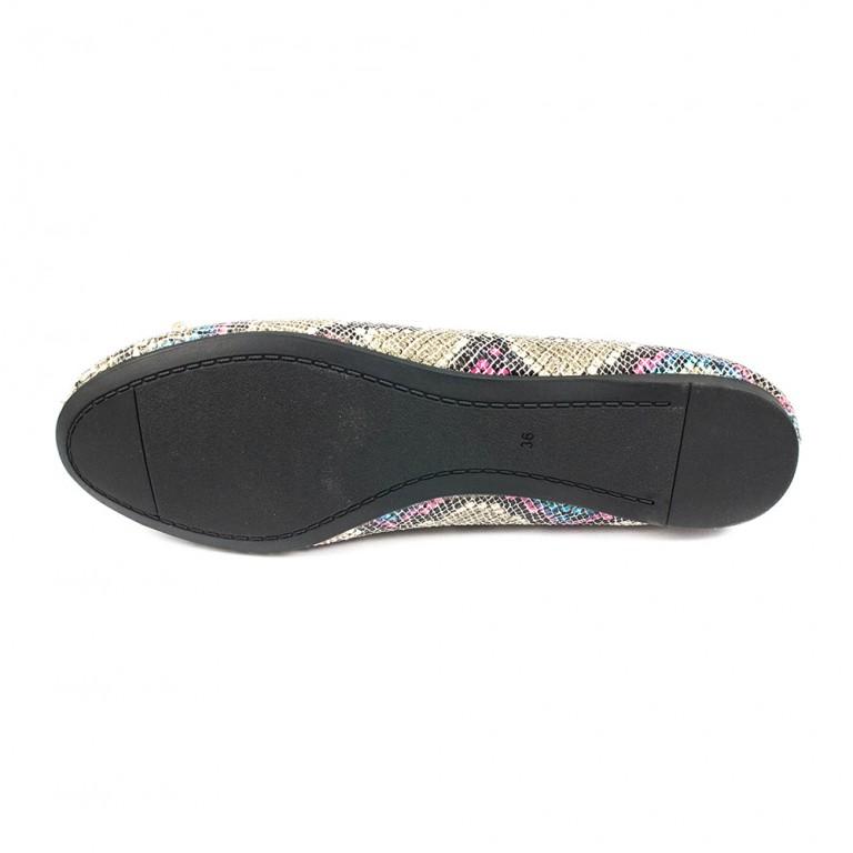 Туфли женские Fabio Monelli ALD8369-5 комбинированные