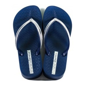 Вьетнамки женские Ipanema 82527-20729 сине-серебряные