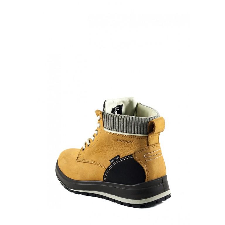 Ботинки зимние женские Grisport 43707T17TN горчичные