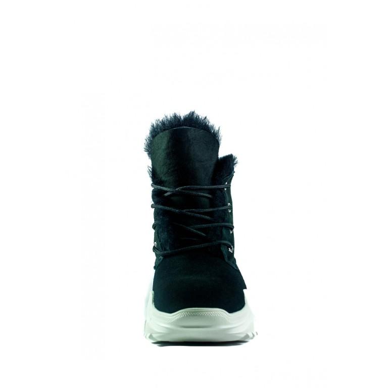 Ботинки зимние женские Sopra СФ R2102 черные