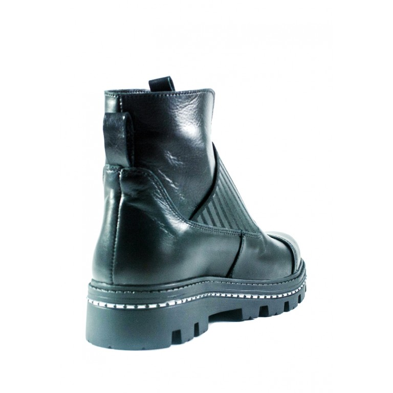 Ботинки демисезон женские CRISMA 2904B-Lisabon чк черные