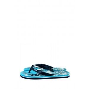 Шлепанцы мужские Bitis 2981-А бирюзово-синие