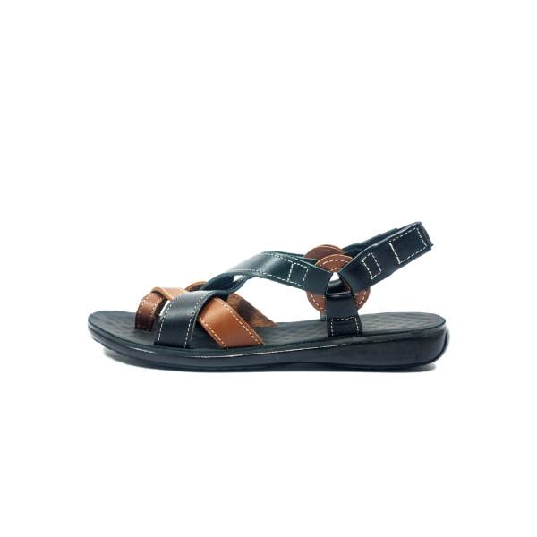 Сандалии женские TiBet 75 черно-коричневые
