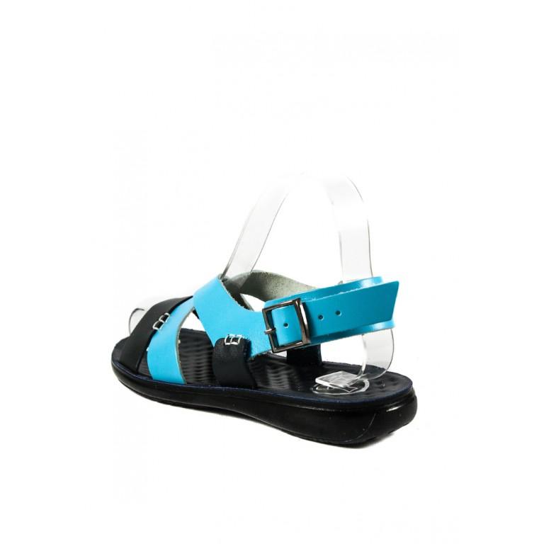 Сандалии женские TiBet 235-03-22 сине-голубой