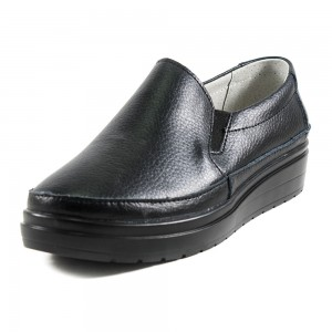 Слипоны женские Allshoes 8360-2 черные