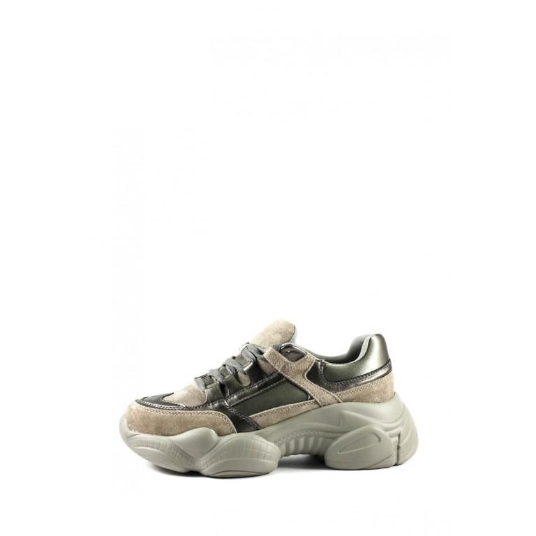 Кроссовки демисезон женские Allshoes 119-18106-6 серые